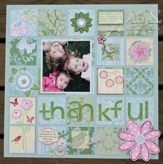 Thankful page